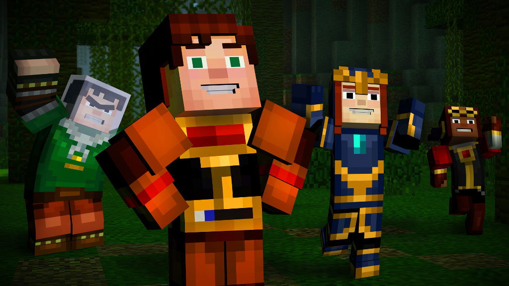 telecharger minecraft story mode