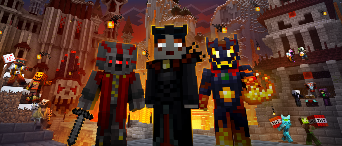 minecraft gratuit skins villains