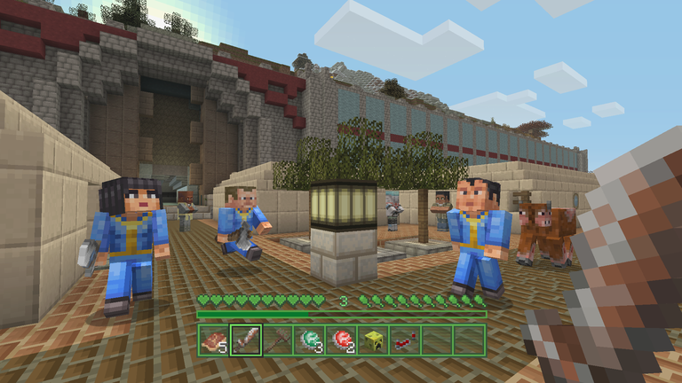 minecraft gratuit minecraft fallout mash up pack
