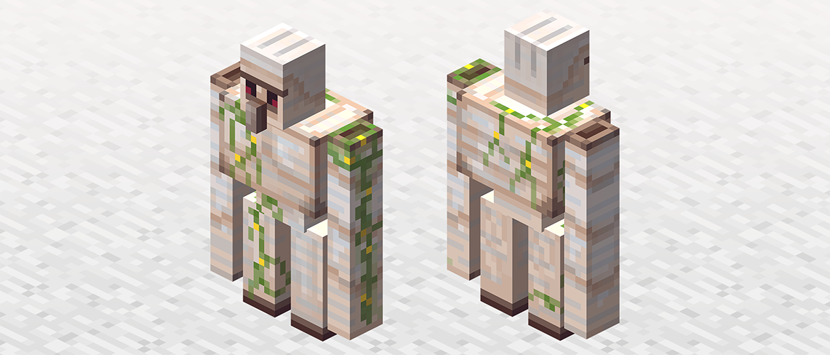 Minecraft pc golem de fer
