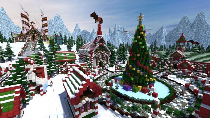 minecraft noel Minecraft Noel   Mincraft Gratuit minecraft noel