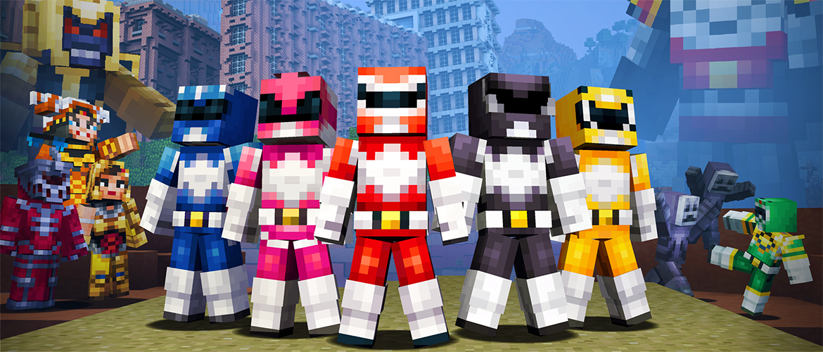 minecraft-gratuit-power-rangers