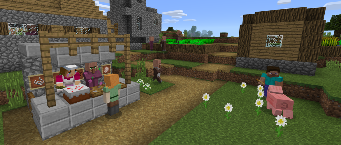 minecraft gratuit update 1.0.4